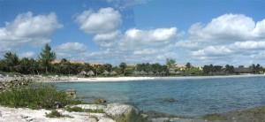 Xpu-Ha Beach from dock