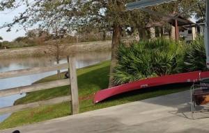 Canoe in Campsite