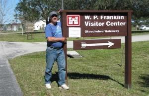 John at Visitor Center