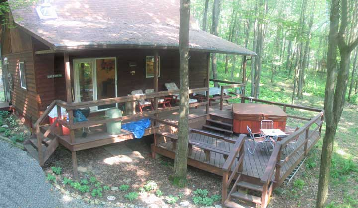Our WV Cabin 377 Beaver Creek Dr, Bruceton Mills, WV, 26525. Our 6 1/2  Acres Of Deep Woods Is Located In Private. Beaver Creek Cell Phone:  440 554 1383