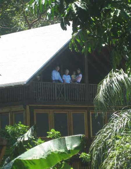 Tropical House 4 Porch