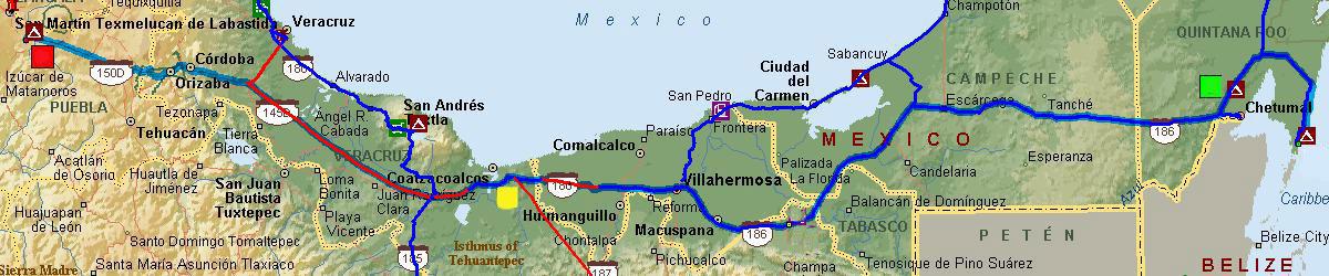 Mexico Trip Map 11