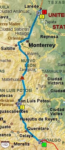 Mexico Trip Map 14_3b